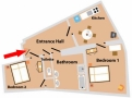 Zamecka Apartma - Apartment 4 Floor plan