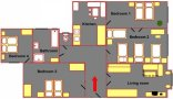 Prague Apartment Wenceslas Square - Dlouha 3A Floor plan