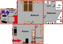 Prague Apartments by Hoffmeister - Apartment 701 Floor plan