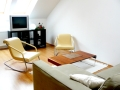 Great Letna Apartment - Great Letna Apartment Living room