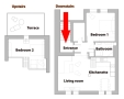 Great Letna Apartment - Great Letna Apartment Floor plan