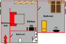 Andel Apartmany U Santosky - Apartment 3 Floor plan