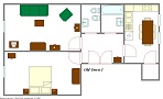 EUA, s.r.o. - Old Town B22 1B Floor plan